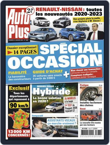 Auto Plus France (Digital) January 24th, 2020 Issue Cover