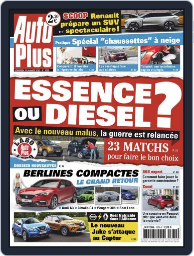 Auto Plus France (Digital) January 31st, 2020 Issue Cover