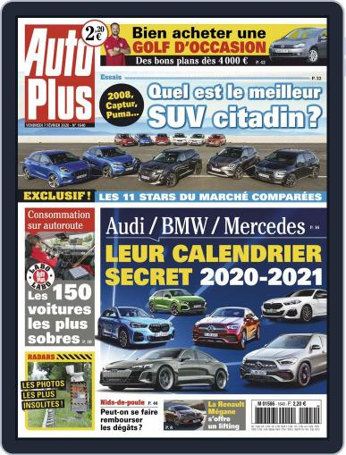 Auto Plus France February 7th, 2020 Digital Back Issue Cover