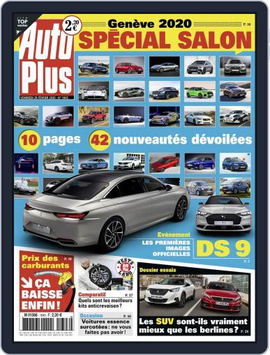 Auto Plus France (Digital) February 28th, 2020 Issue Cover