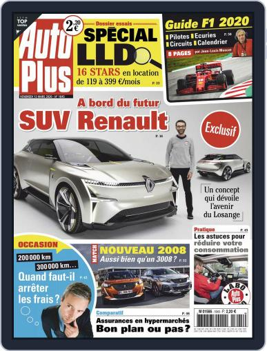 Auto Plus France (Digital) March 13th, 2020 Issue Cover
