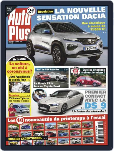 Auto Plus France (Digital) March 20th, 2020 Issue Cover