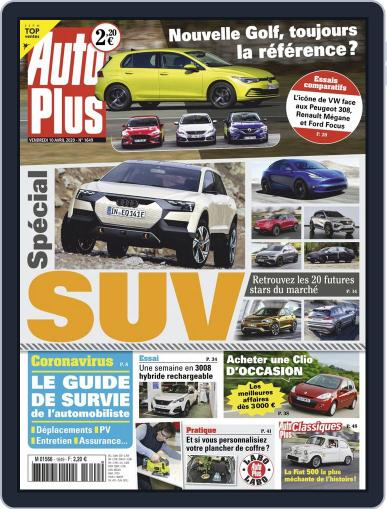 Auto Plus France (Digital) April 10th, 2020 Issue Cover
