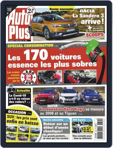 Auto Plus France (Digital) April 16th, 2020 Issue Cover