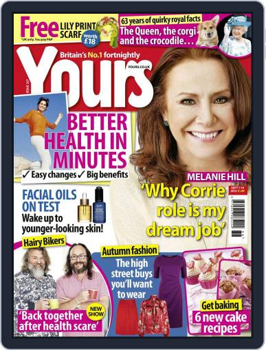 Yours (Digital) September 1st, 2015 Issue Cover