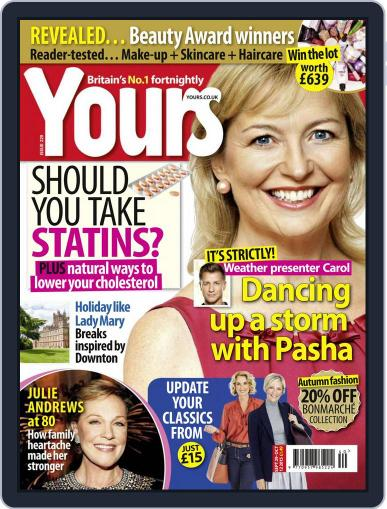 Yours (Digital) September 29th, 2015 Issue Cover