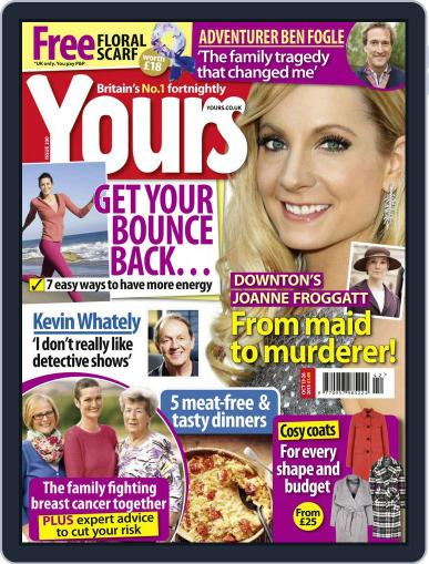 Yours (Digital) October 13th, 2015 Issue Cover