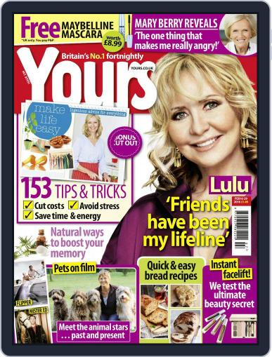 Yours (Digital) February 16th, 2016 Issue Cover