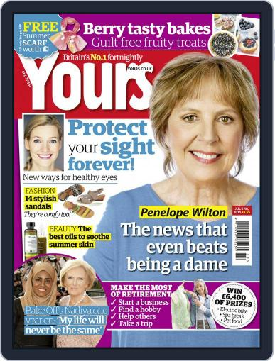 Yours (Digital) July 5th, 2016 Issue Cover