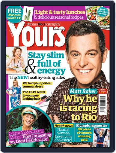 Yours August 2nd, 2016 Digital Back Issue Cover