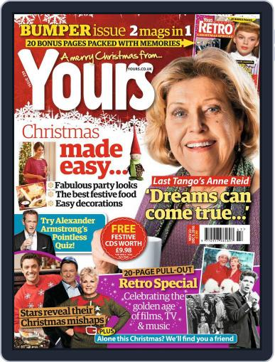 Yours (Digital) November 15th, 2016 Issue Cover