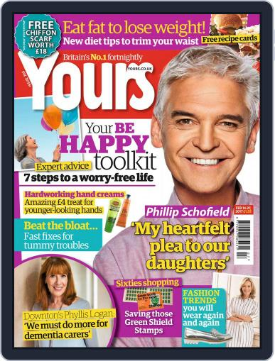Yours (Digital) February 14th, 2017 Issue Cover