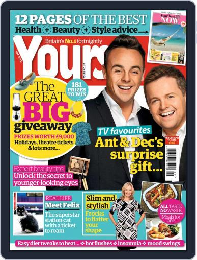 Yours February 28th, 2017 Digital Back Issue Cover