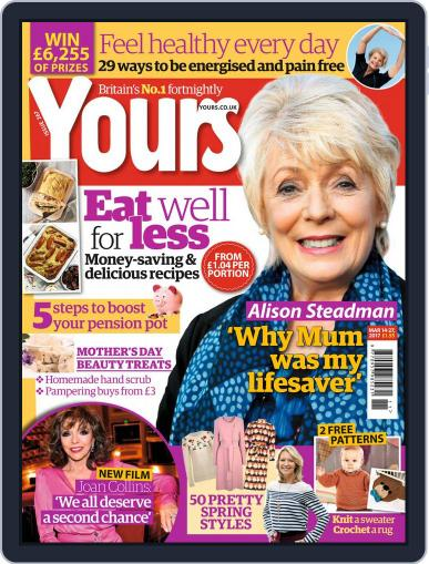 Yours (Digital) March 14th, 2017 Issue Cover