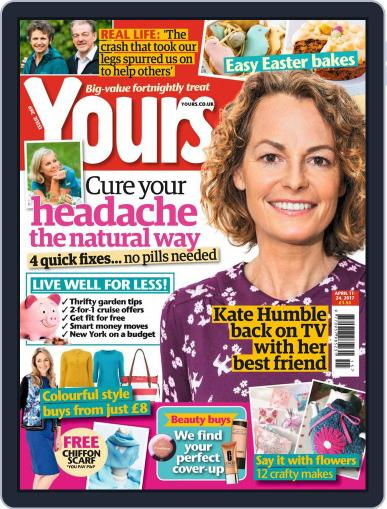 Yours (Digital) April 11th, 2017 Issue Cover