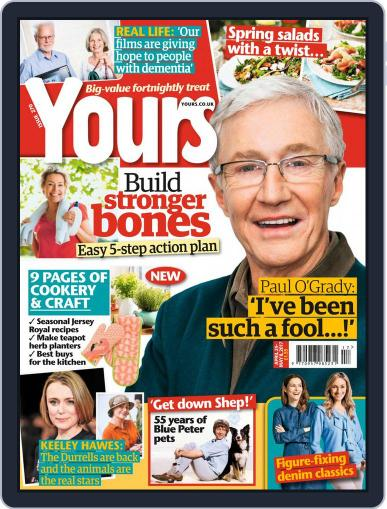 Yours (Digital) April 25th, 2017 Issue Cover