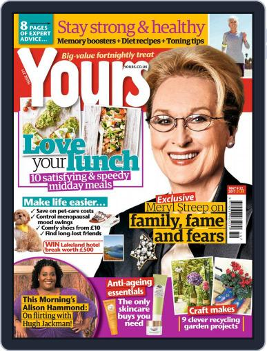 Yours (Digital) May 9th, 2017 Issue Cover