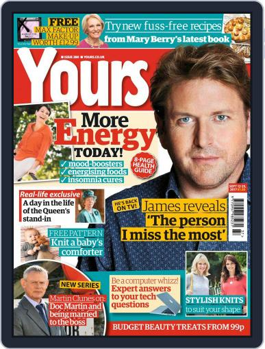 Yours (Digital) September 12th, 2017 Issue Cover