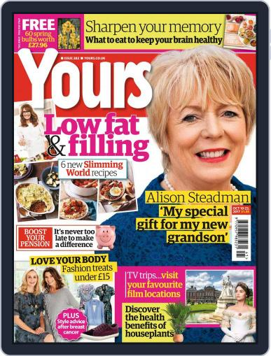 Yours October 10th, 2017 Digital Back Issue Cover