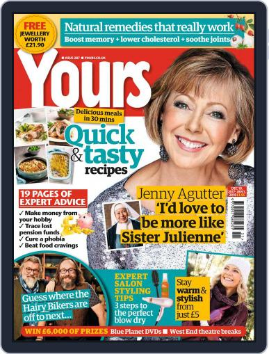 Yours (Digital) December 19th, 2017 Issue Cover