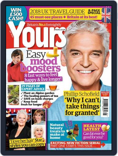 Yours (Digital) February 9th, 2018 Issue Cover