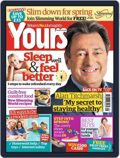 Yours (Digital) February 27th, 2018 Issue Cover