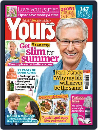 Yours (Digital) May 8th, 2018 Issue Cover