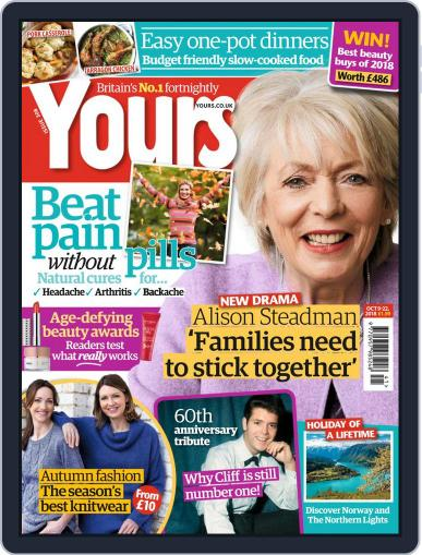 Yours (Digital) October 9th, 2018 Issue Cover