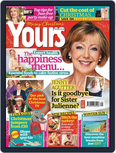 Yours (Digital) December 4th, 2018 Issue Cover