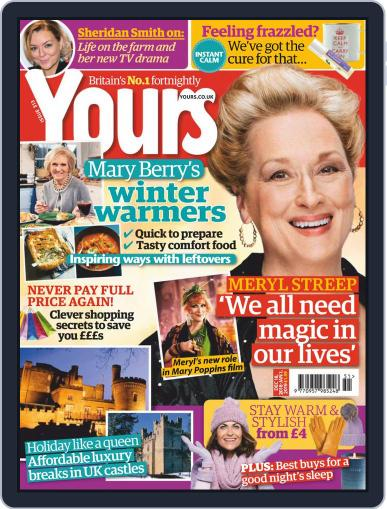 Yours December 18th, 2018 Digital Back Issue Cover