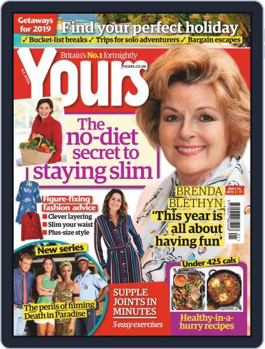 Yours (Digital) January 2nd, 2019 Issue Cover