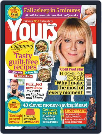 Yours (Digital) January 15th, 2019 Issue Cover