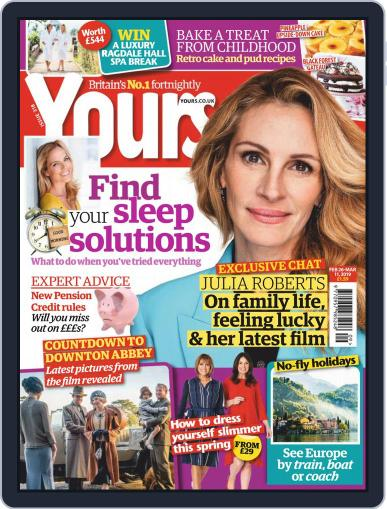 Yours (Digital) February 26th, 2019 Issue Cover
