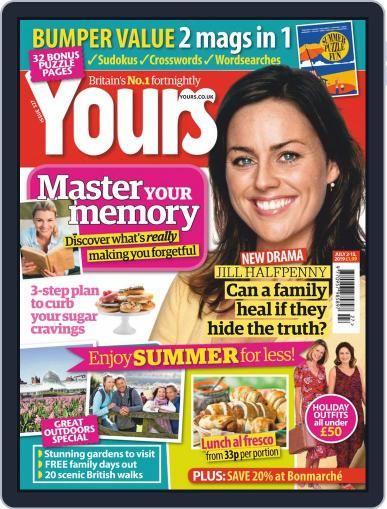 Yours (Digital) July 2nd, 2019 Issue Cover