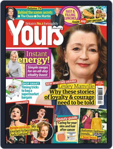 Yours (Digital) September 24th, 2019 Issue Cover