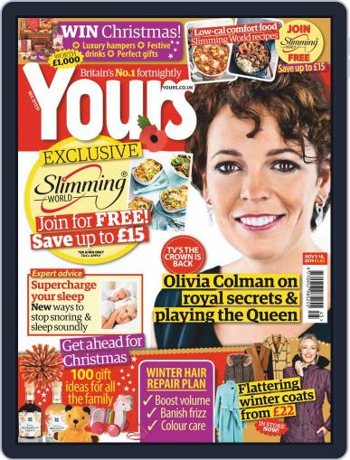 Yours (Digital) November 5th, 2019 Issue Cover