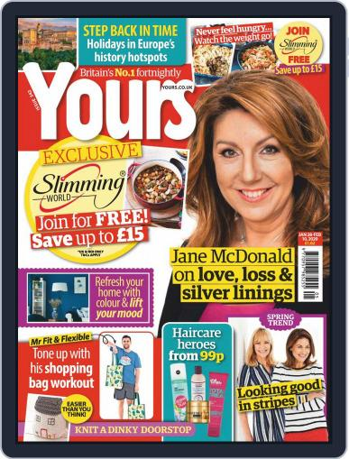 Yours (Digital) January 28th, 2020 Issue Cover
