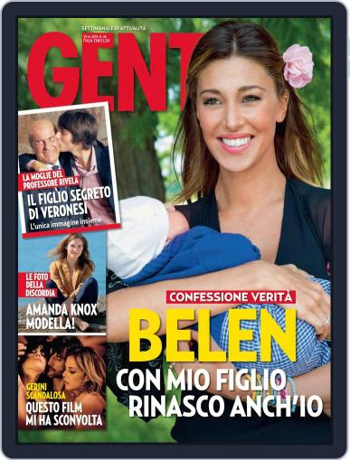 Gente June 14th, 2013 Digital Back Issue Cover