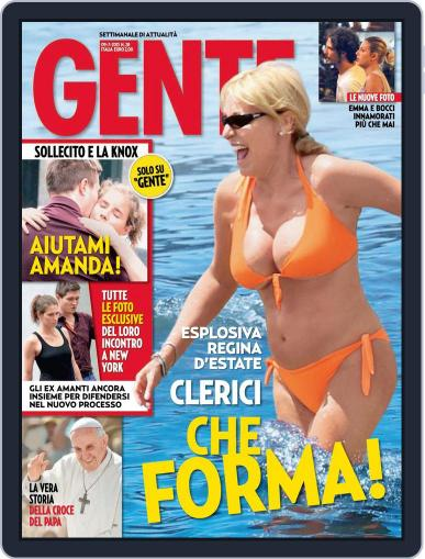 Gente (Digital) June 28th, 2013 Issue Cover