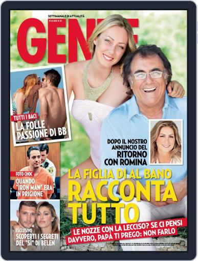 Gente (Digital) August 2nd, 2013 Issue Cover