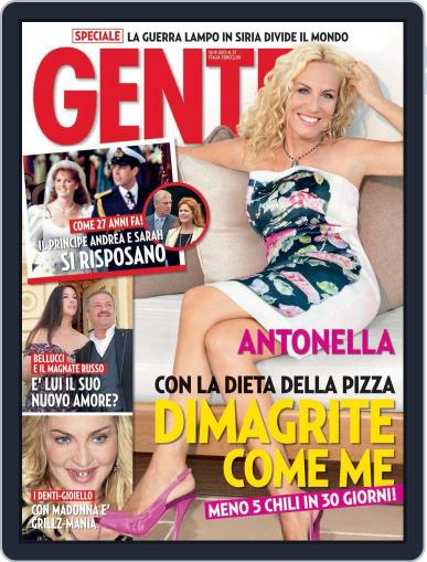 Gente August 30th, 2013 Digital Back Issue Cover