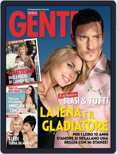 Gente (Digital) October 18th, 2013 Issue Cover