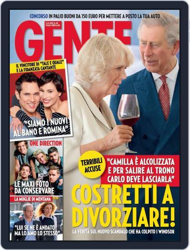 Gente (Digital) November 22nd, 2013 Issue Cover