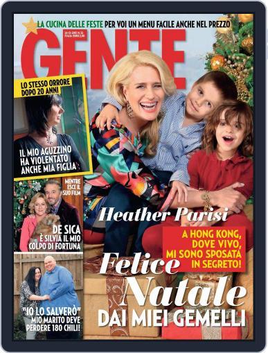 Gente (Digital) December 13th, 2013 Issue Cover