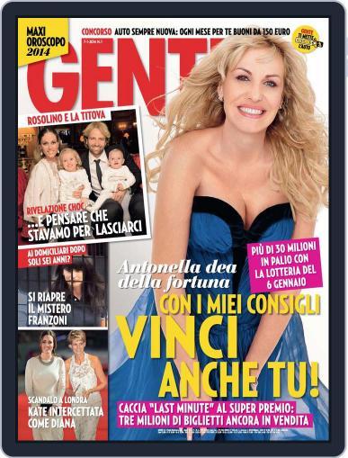 Gente (Digital) December 27th, 2013 Issue Cover