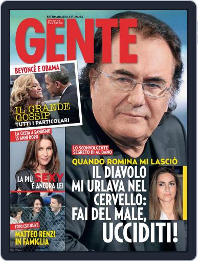 Gente February 14th, 2014 Digital Back Issue Cover