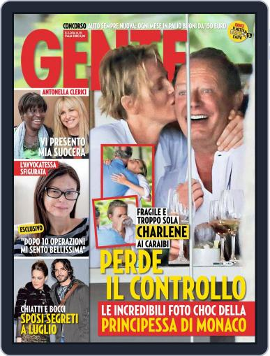 Gente (Digital) February 28th, 2014 Issue Cover