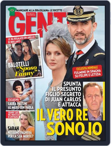 Gente June 13th, 2014 Digital Back Issue Cover