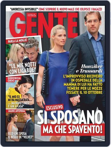 Gente September 26th, 2014 Digital Back Issue Cover
