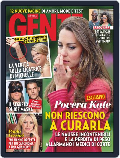 Gente (Digital) October 17th, 2014 Issue Cover